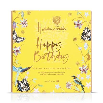 Food Gifts - Holdsworth 'Happy Birthday' Assorted Chocolates - Image 1