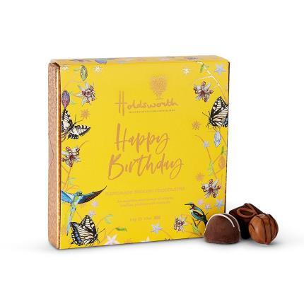 Food Gifts - Holdsworth 'Happy Birthday' Assorted Chocolates - Image 2