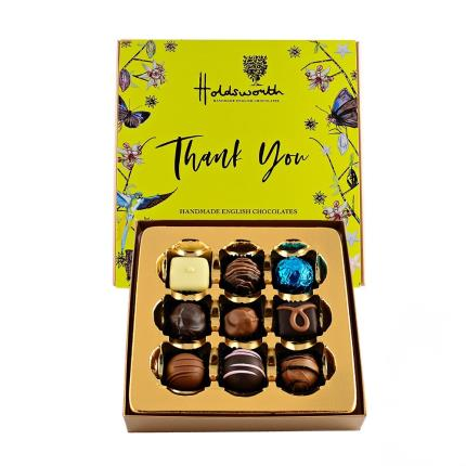 Food Gifts - Holdsworth 'Thank You' Assorted Chocolates - Image 2