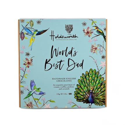 Food Gifts - Holdsworth 'World's Best Dad' Assorted Chocolates - Image 1