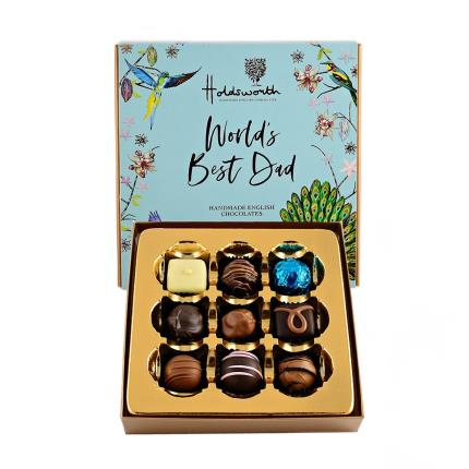 Food Gifts - Holdsworth 'World's Best Dad' Assorted Chocolates - Image 2