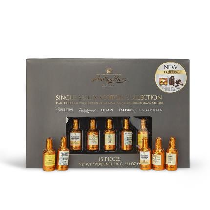 Food Gifts - Anthon Berg Single Malts Scotch Whisky Collection - Image 1