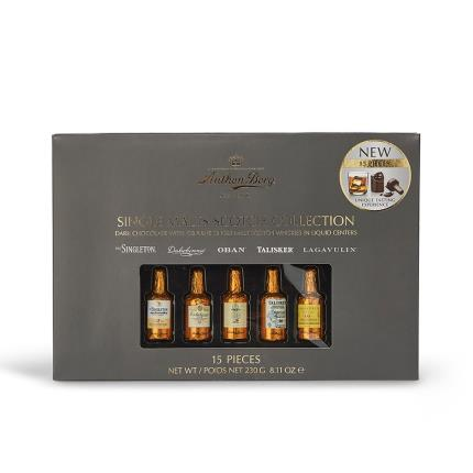 Food Gifts - Anthon Berg Single Malts Scotch Whisky Collection - Image 2
