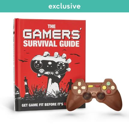 Food Gifts - Chocolate Controller and Gamers Survival Guide - Image 1