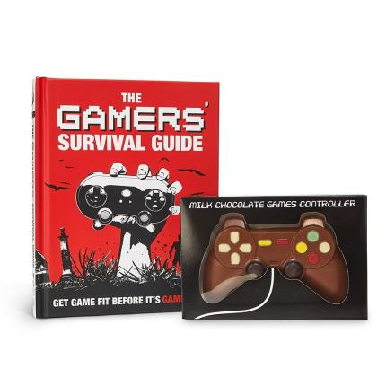 Food Gifts - Chocolate Controller and Gamers Survival Guide - Image 2