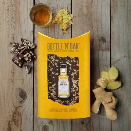 Food Gifts - Whisky & Luxury Dark Chocolate Bar - Image 1