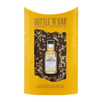 Food Gifts - Whisky & Luxury Dark Chocolate Bar - Image 2