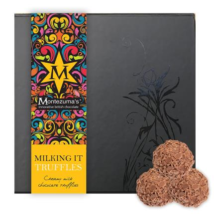 Food Gifts - Montezuma Milking It Chocolate Truffle Collection - Image 1