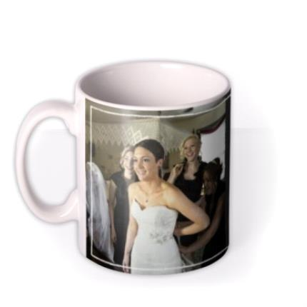 Mugs - Wedding Thank You Special Day Photo Upload Mug - Image 1