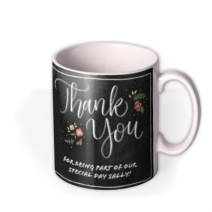 Mugs - Wedding Thank You Special Day Photo Upload Mug - Image 2