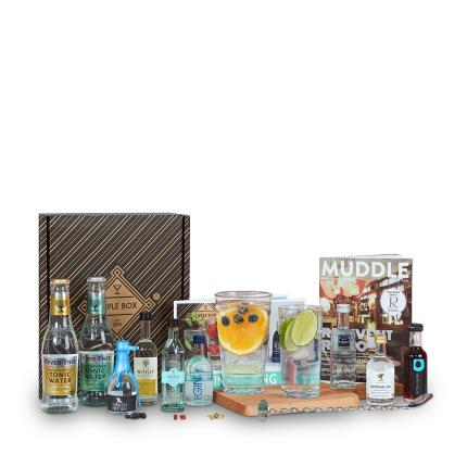 Alcohol Gifts - Tipple Box Great British Gin Tasting Set - Image 1