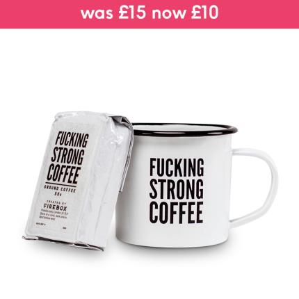 Food Gifts - Firebox F***ing Strong Coffee Gift Set - Image 1
