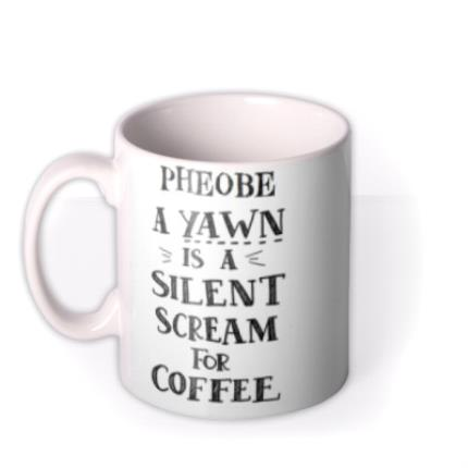 Mugs - Funny mug - typographic mug - coffee - Image 1