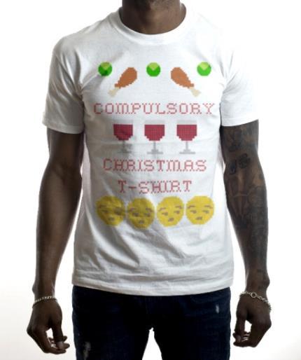 T-Shirts - Christmas Compulsory Personalised T-shirt - Image 2