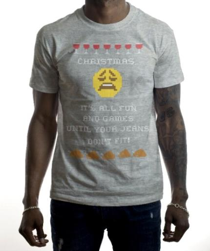 T-Shirts - Christmas Fun Personalised T-shirt - Image 2