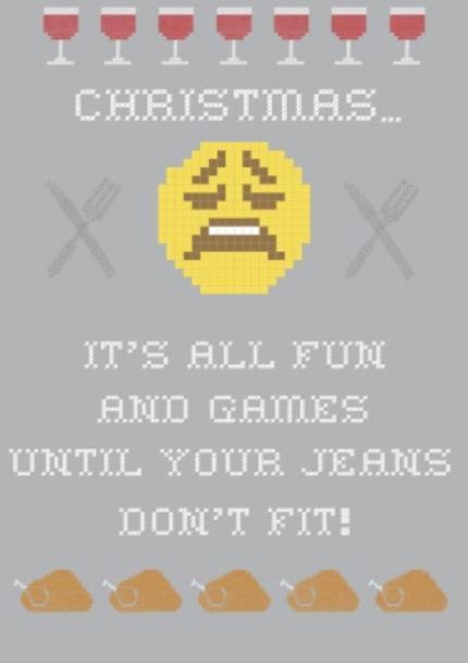 T-Shirts - Christmas Fun Personalised T-shirt - Image 4