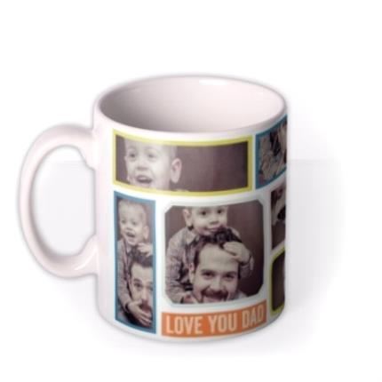 Mugs - Bright Photo Collage Personalised Mug - Image 1