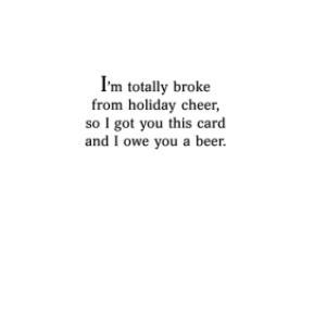 Greeting Cards - Beer Mug With Santa Hat Christmas Card - Image 3