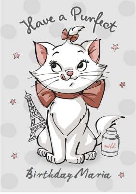 Disney Marie Birthday Card Cat Card Moonpig