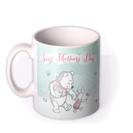 Mugs - Mother's Day Winnie the Pooh First Photo Upload Mug - Image 1