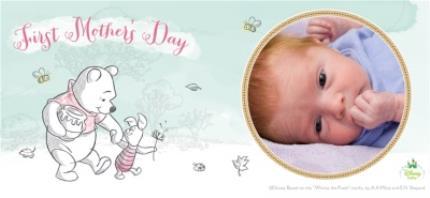 Mugs - Mother's Day Winnie the Pooh First Photo Upload Mug - Image 4