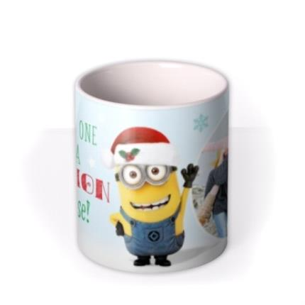 Mugs - Despicable Me You're One In A Minion Christmas Mug - Image 3