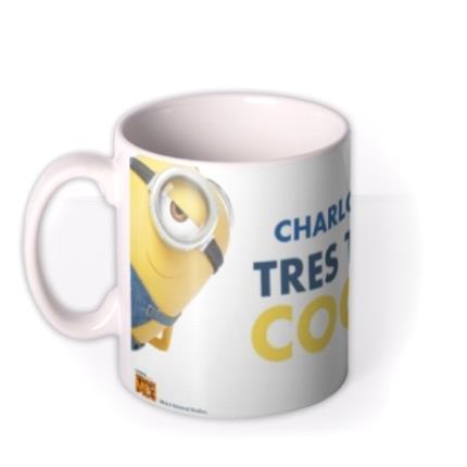 Mugs - Despicable Me Minion Personalised Tres Cool Mug - Image 1