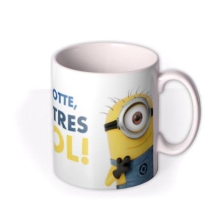 Mugs - Despicable Me Minion Personalised Tres Cool Mug - Image 2