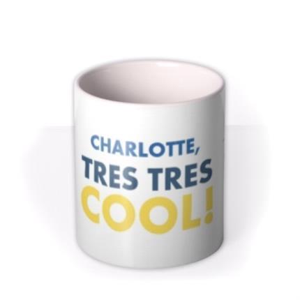 Mugs - Despicable Me Minion Personalised Tres Cool Mug - Image 3