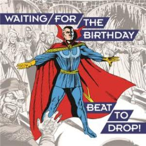 Greeting Cards - Birthday Card - Marvel - Dr Strange - music - dance - Image 1
