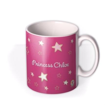 Mugs - Princess Pink Biscuit Personalised Mug - Image 2