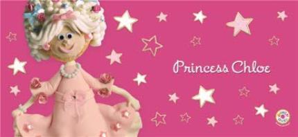 Mugs - Princess Pink Biscuit Personalised Mug - Image 4