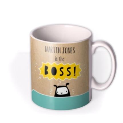 Mugs - Best Boss Personalised Mug - Image 2
