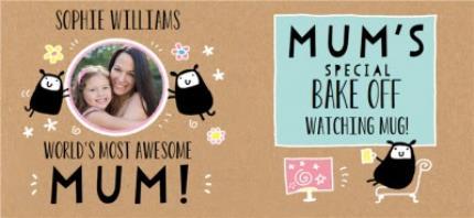 Mugs - Mother's Day Mug - World's best Mum - photo upload mug - Image 4