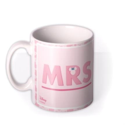Mugs - Disney Minnie Mouse Mrs Mug  - Image 1
