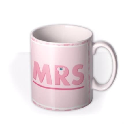 Mugs - Disney Minnie Mouse Mrs Mug  - Image 2