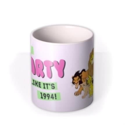 Mugs - Lion King Characters Mug - Let's Party like it's 1994! - Image 3