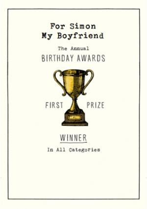 Greeting Cards - Birthday Card - The Annual Birthday Awards - Winner - Image 1