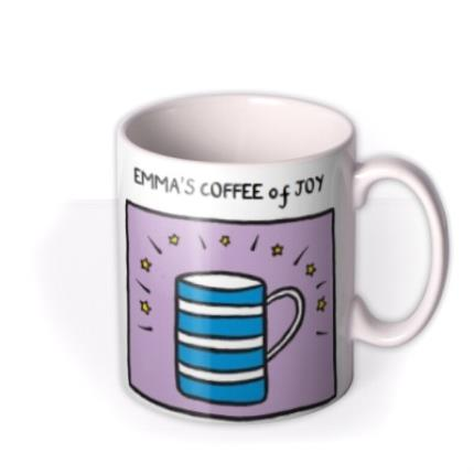 Mugs - Coffee Of Joy Personalised Mug - Image 2
