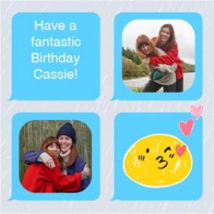 Greeting Cards - Birthday card - emoji - photo upload - Image 1