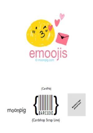 Greeting Cards - Birthday concertina card - emoji  - Image 8