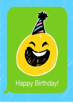 Greeting Cards - Birthday concertina card - emoji - photo upload - Image 1