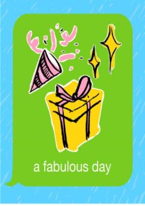 Greeting Cards - Birthday concertina card - emoji - photo upload - Image 3