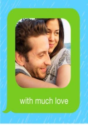 Greeting Cards - Birthday concertina card - emoji - photo upload - Image 4