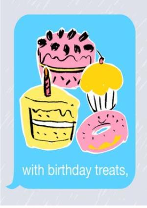 Greeting Cards - Birthday concertina card - emoji - photo upload - Image 5