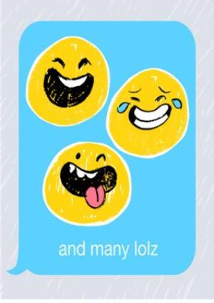 Greeting Cards - Birthday concertina card - emoji - photo upload - Image 7