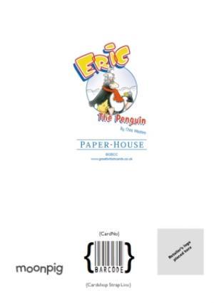 Greeting Cards - Birthday Card - Eric The Penguin - Birthday Cake - Image 4