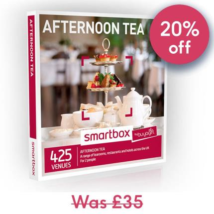 Gift Experiences - Smartbox Afternoon Tea Gift Experience - Image 1
