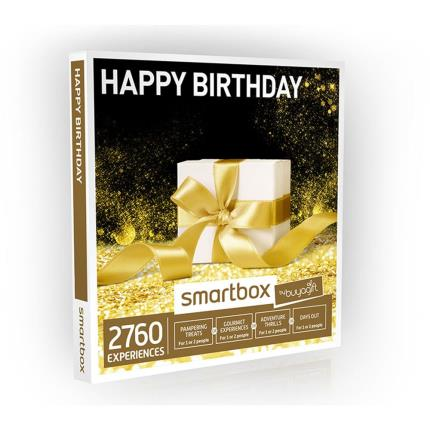 Gift Experiences - Smartbox Happy Birthday Gift Experience - Image 1