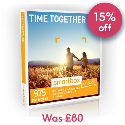 Gift Experiences - Smartbox Time Together Gift Experience - Image 1